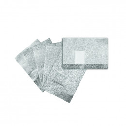 'Gel Polish Aluminium Removal Wraps, 100 pcs'