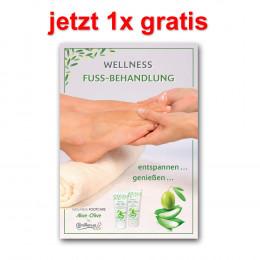 'Poster Wellness-Fußpflege 42 x 60 cm, German, laminated'