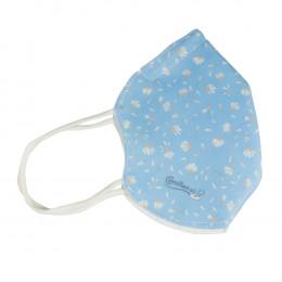 'Pattern Mask Camillen 60, blue'