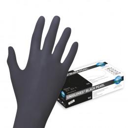 'Nitril BLACK Gloves, 100 pcs'