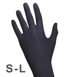 'RAUE Nitril BLACK 100 Gloves'