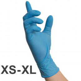 'Nitril BLAU Gloves, 100 pcs'