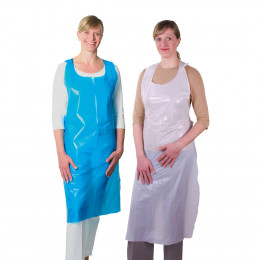 'Disposable aprons made of PE'