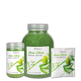 'BATH SALT ALOE-OLIVE'