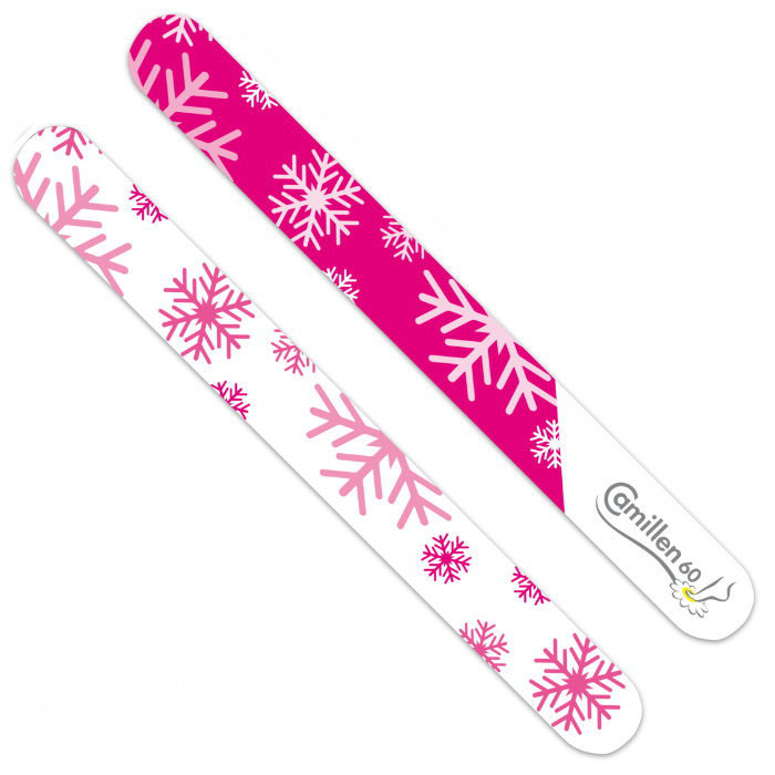 Nail File Xmas pink, Camillen 60 150/220