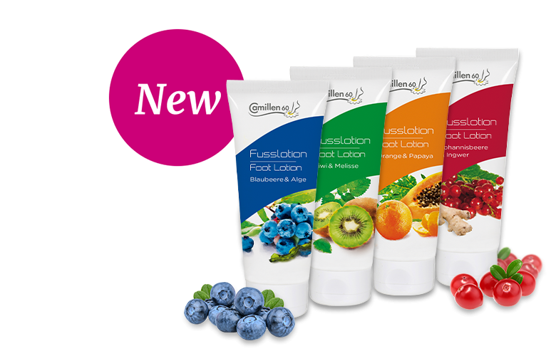 Fruity Scented Foot Lotions
